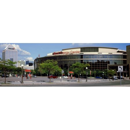 Multi Purpose Arena In A City Xcel Energy Center St Paul Minnesota Usa Poster Print