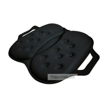 Tektrum Portable Foldable Orthopedic Cool Gel Seat Cushion