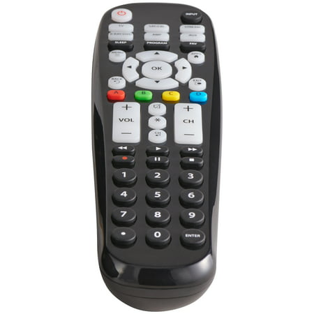 Blackweb 6 Device Universal Large Button Remote Control Walmart