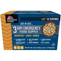 Mountain House 3-Day Emergency Food Supply