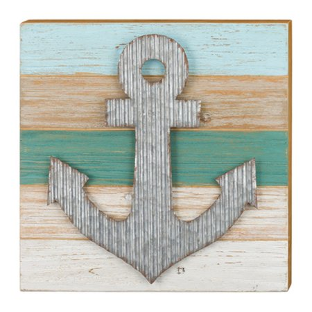 Regal Art and Gift Sanibel Anchor Indoor/Outdoor Wall Art - Anchor Gifts