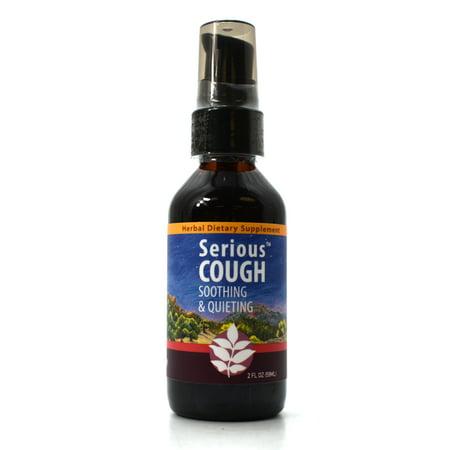 WishGarden Herbal Remedies WishGarden Herbs — Serious Cough Herbal Formula —  Gluten Free — 2 oz Pump