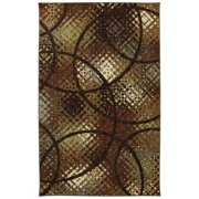 Mohawk Home Free Flow Enticement Earth Indoor Area Rug