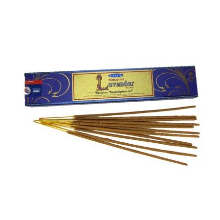 Satya Lavender Scent Incense Sticks Reiki Smoke Spiritual Cleanse Healing