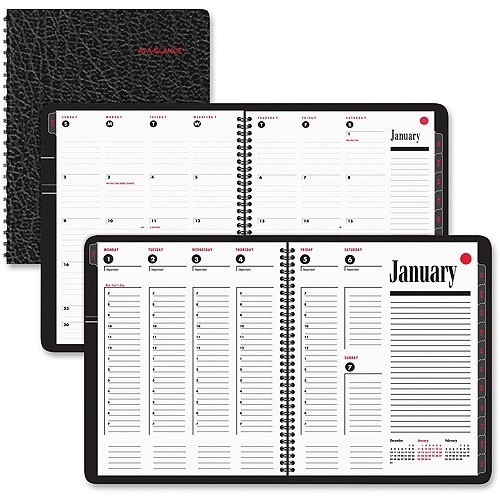 At-A-Glance Tabbed Weekly/Monthly Appointment Book
