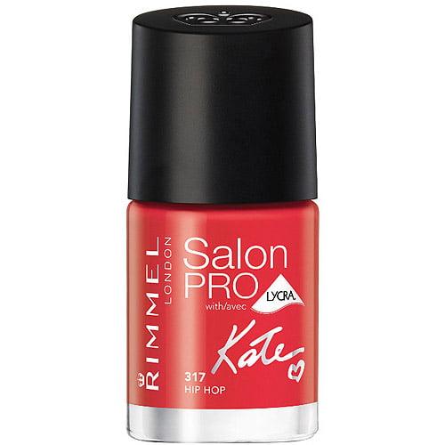Rimmel Salon Pro with Lycra Nail Color, 317 Hip Hop, 0.4 fl oz