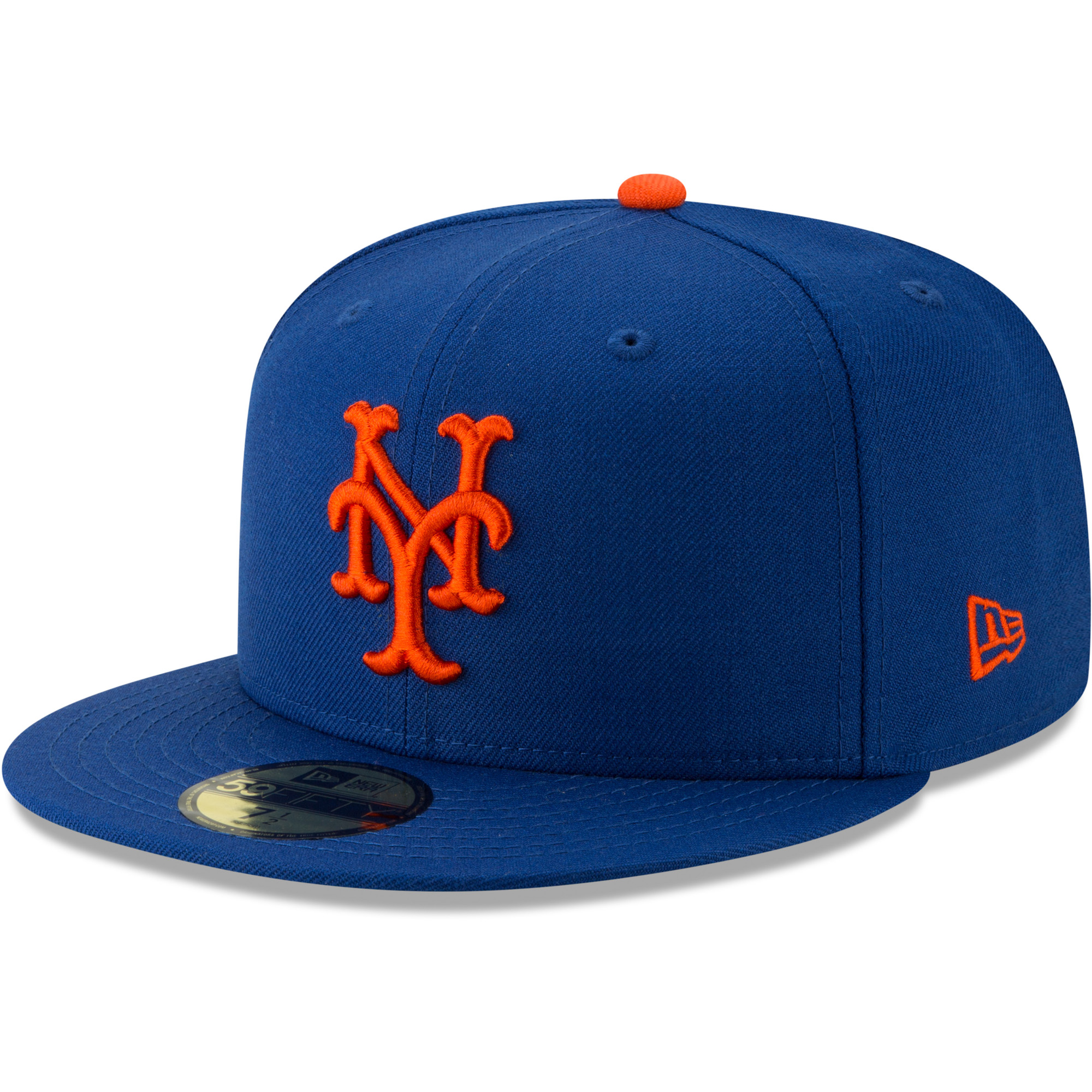 New York Mets New Era Cooperstown Collection Alt Logo Pack 59FIFTY Fitted Hat - Royal
