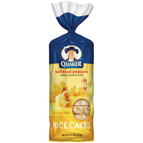 Quaker Butter Popcorn Rice Cakes, 4.47 oz