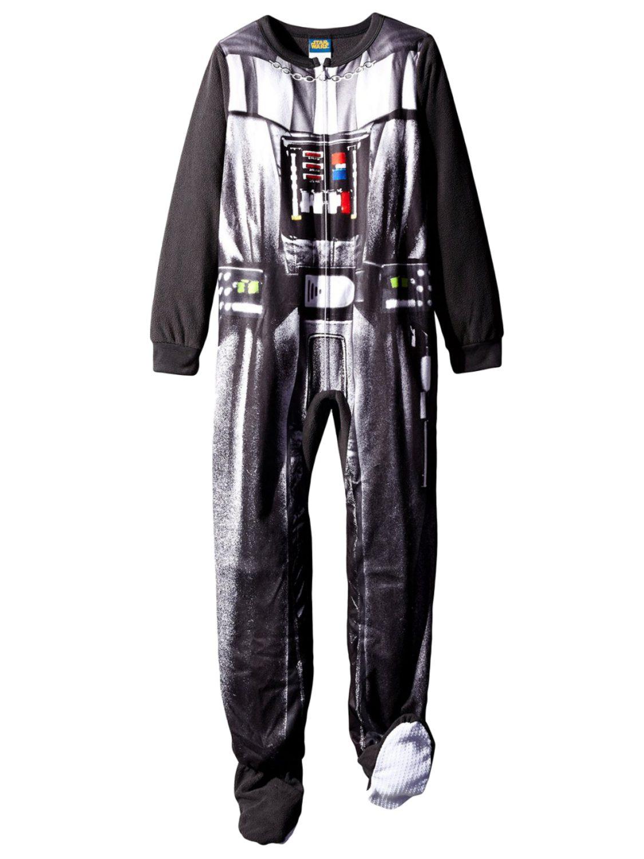 Star Wars Darth Vader one piece pyjamas sleep suit NEW Boys /& Girls Age  3 4