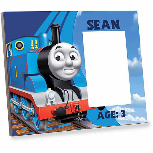 Personalized Thomas and Friends Up in the Sky Picture Frame