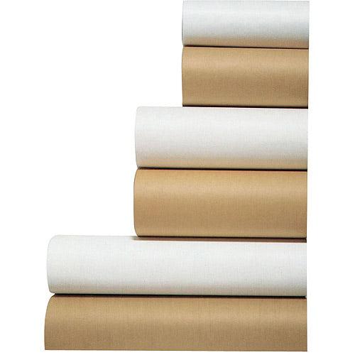 "School Smart Paper Roll, 50 lb, 36"" x 1000', White"