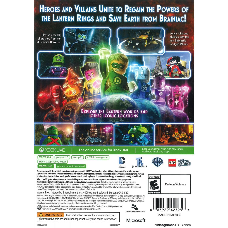 Lego Batman 3 Beyond Gotham Xbox 360 Warner Bros Walmart Com Walmart Com
