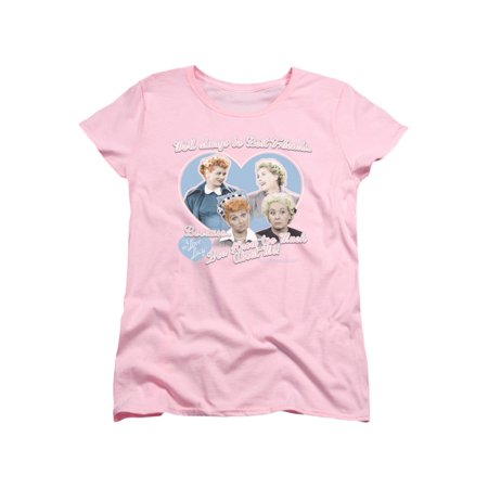 I Love Lucy 50's TV Series Always Best Friends Women's T-Shirt (Top 100 Best Series)