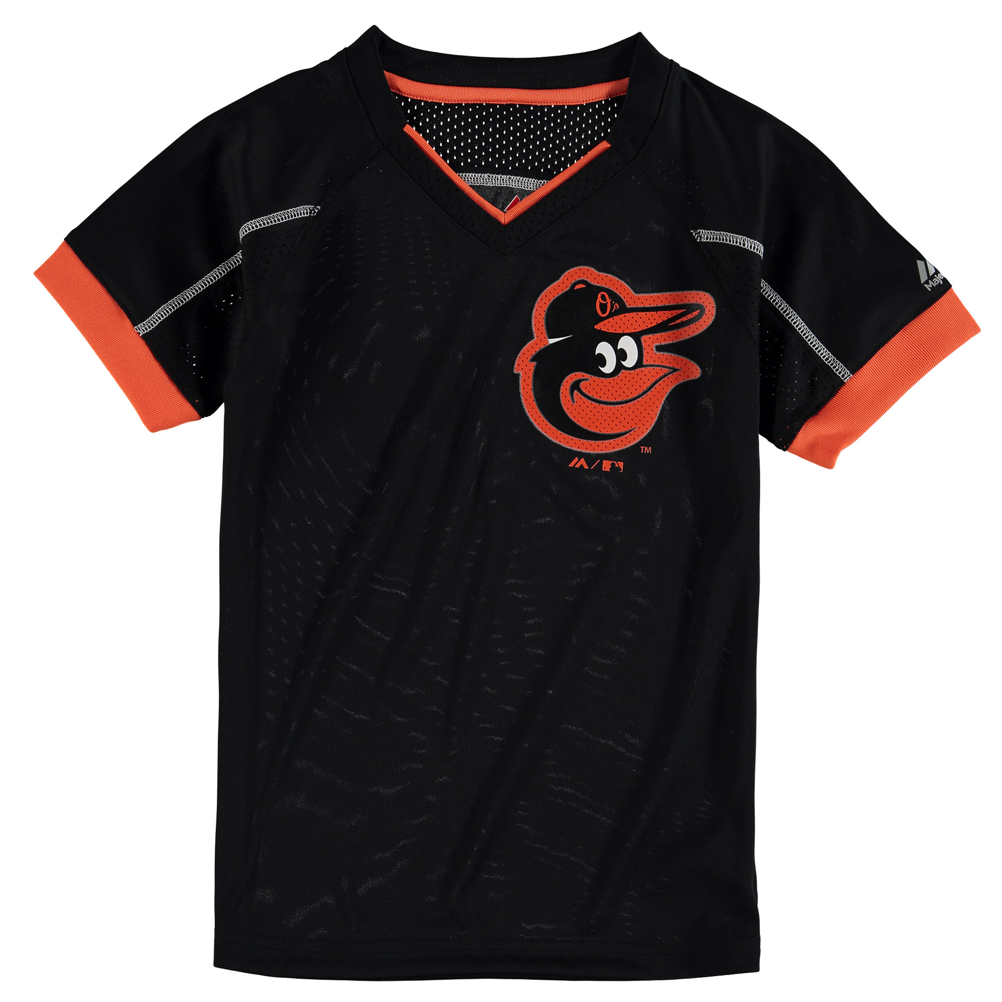 Baltimore Orioles Majestic Youth Emergence T-Shirt - Black