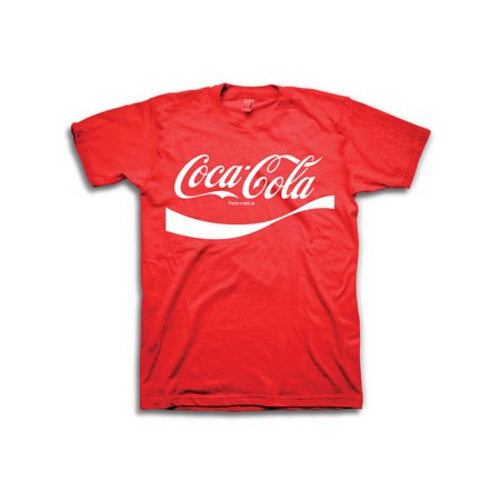 Men's Coca Cola Script Logo Short Sleeve Graphic T - Script Short Sleeve Tee