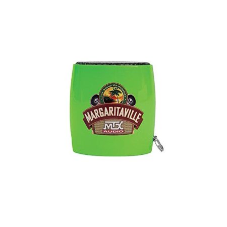 Margaritaville MVASSMS1GNG Bluetooth Sound Shot Mini Speaker, Green