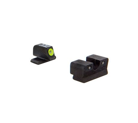 Trijicon HD XR Night Sight Set, Yellow Front Outline for Sig Sauer .40S&W, .45AC by Trijicon