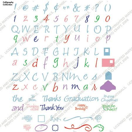 Cricut Cartridge Calligraphy Collect