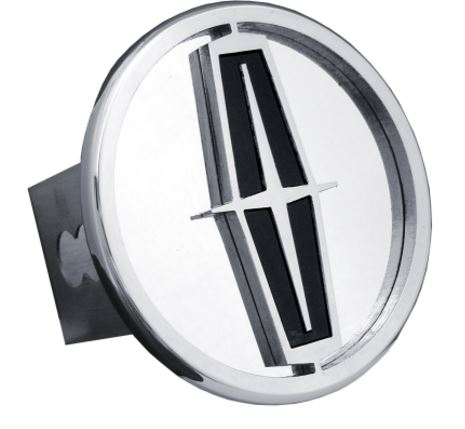 Automotive Gold T.LIN.B.C Trailer Hitch Cover  Fits 2 Inch Receiver; Lincoln Logo; Chrome with Black Fill; Stainless Steel - image 1 of 1