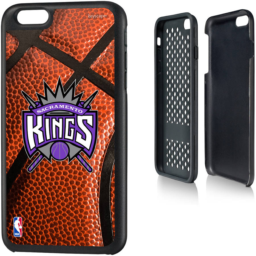 Sacramento Kings Basketball Design Apple iPhone 6 Plus Rugged Case by Keyscaper