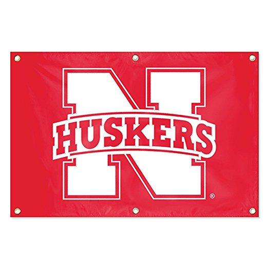 NCAA Nebraska Cornhuskers Fan Banner