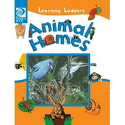 Learning Ladders 1/Hardcover: Animal Homes (Hardcover)