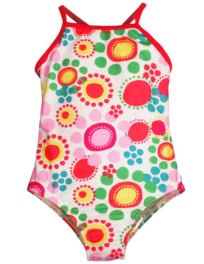 Bunz Kidz - Baby Girls 1 Piece Swimsuit size 12 to 24 Months - 30 Day Guarantee - FREE SHIPPING