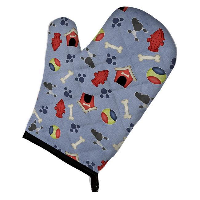 Carolines Treasures BB3939OVMT Poodle Dog House Collection Oven Mitt - image 1 of 1
