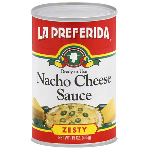 La Preferida Zesty Nacho Cheese Sauce, 15 oz, (Pack of 12)