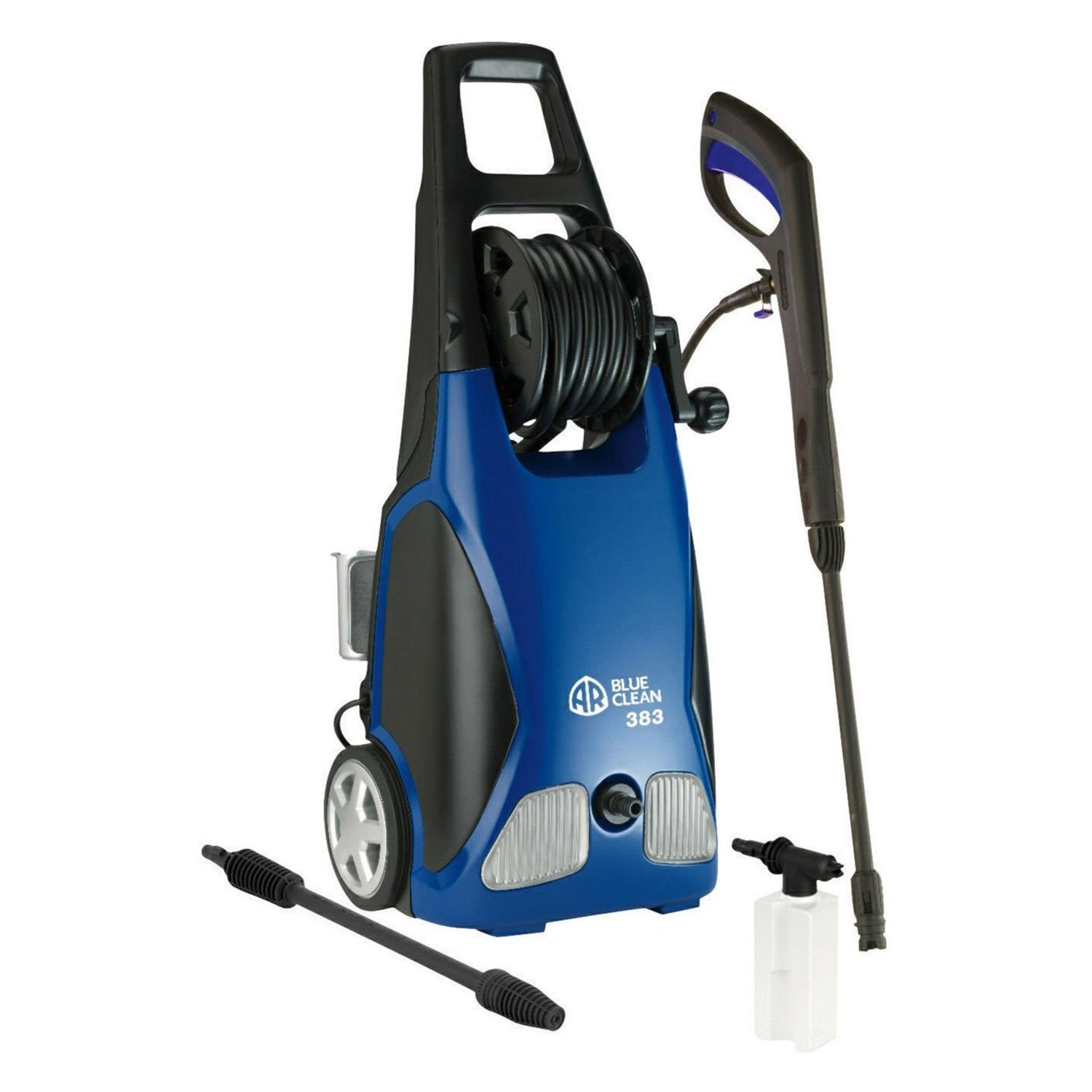 AR Blue Clean 1900 PSI 1.5 GPM Electric Pressure Washer with Spray Kit | AR383