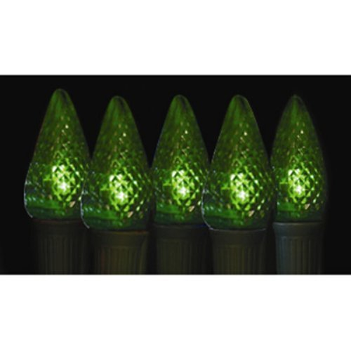 Brite Ideas 25 Bulb Green C9 LED Light Set