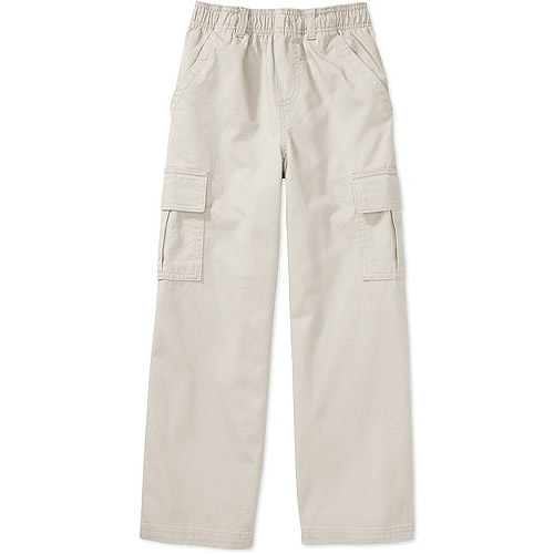 Faded Glory Boys' Pull-On Cargo Pants
