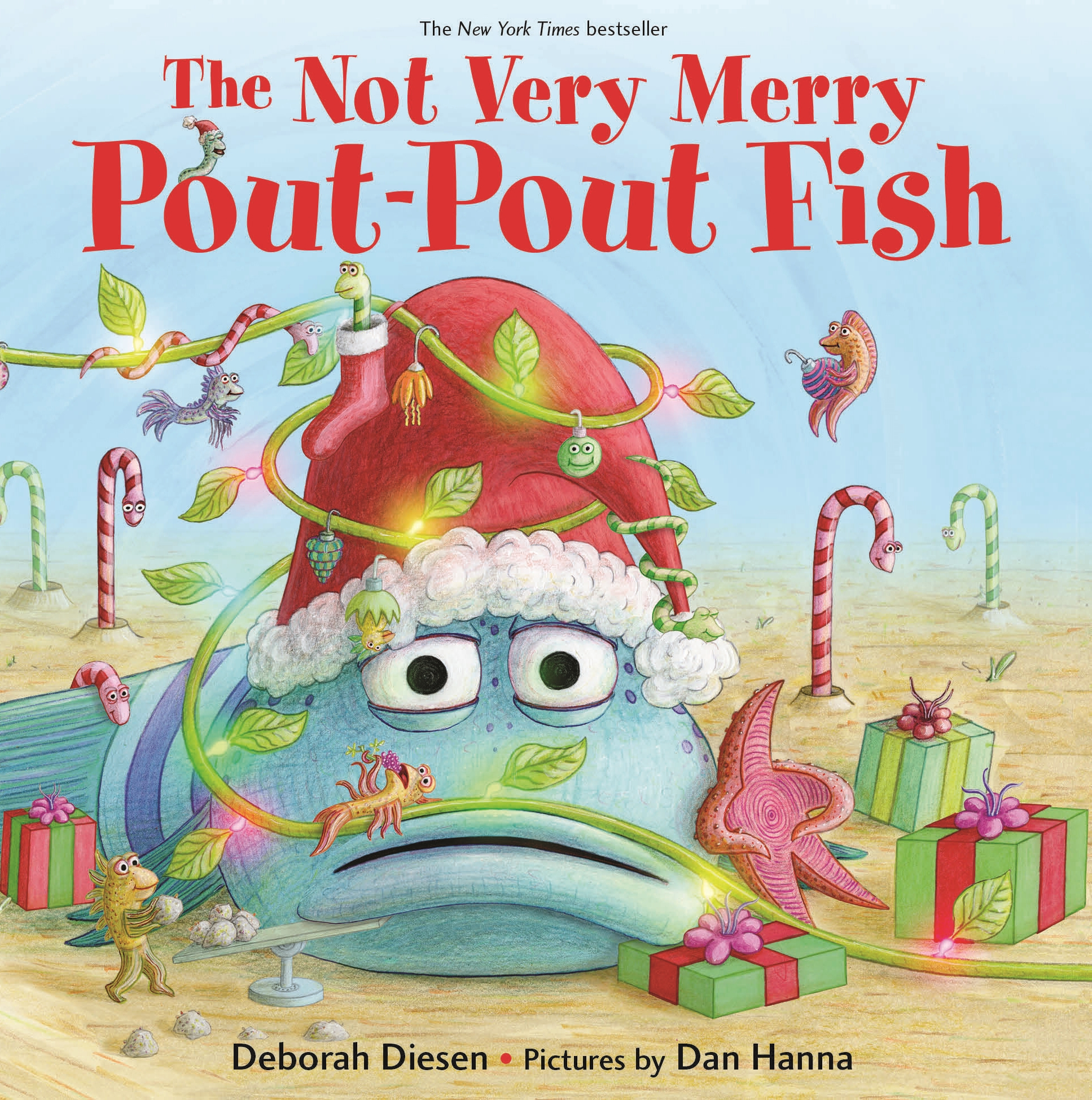 Not Very Merry Pout Pout Fish (Board Book)