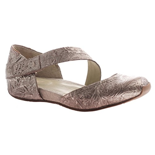 OTBT Women's Pacific 7 City Mary Jane Flat, Light Pewter, 7 Pacific M US 4feacb