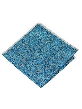 Renaissance Blue Pocket Square