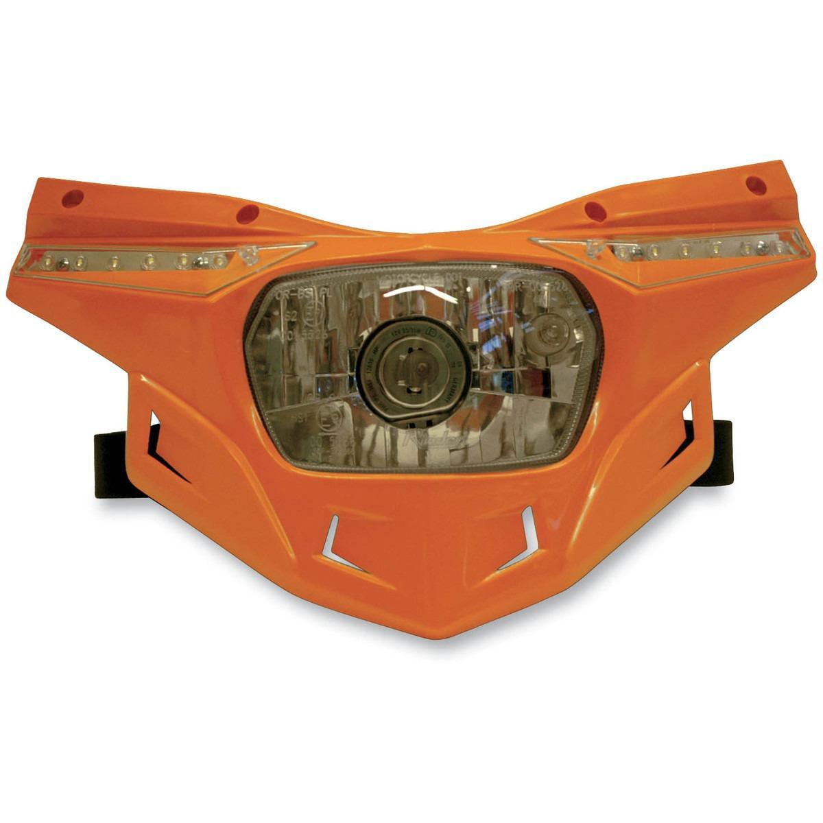 UFO Plastics PF01715-001 Stealth Headlight - Black