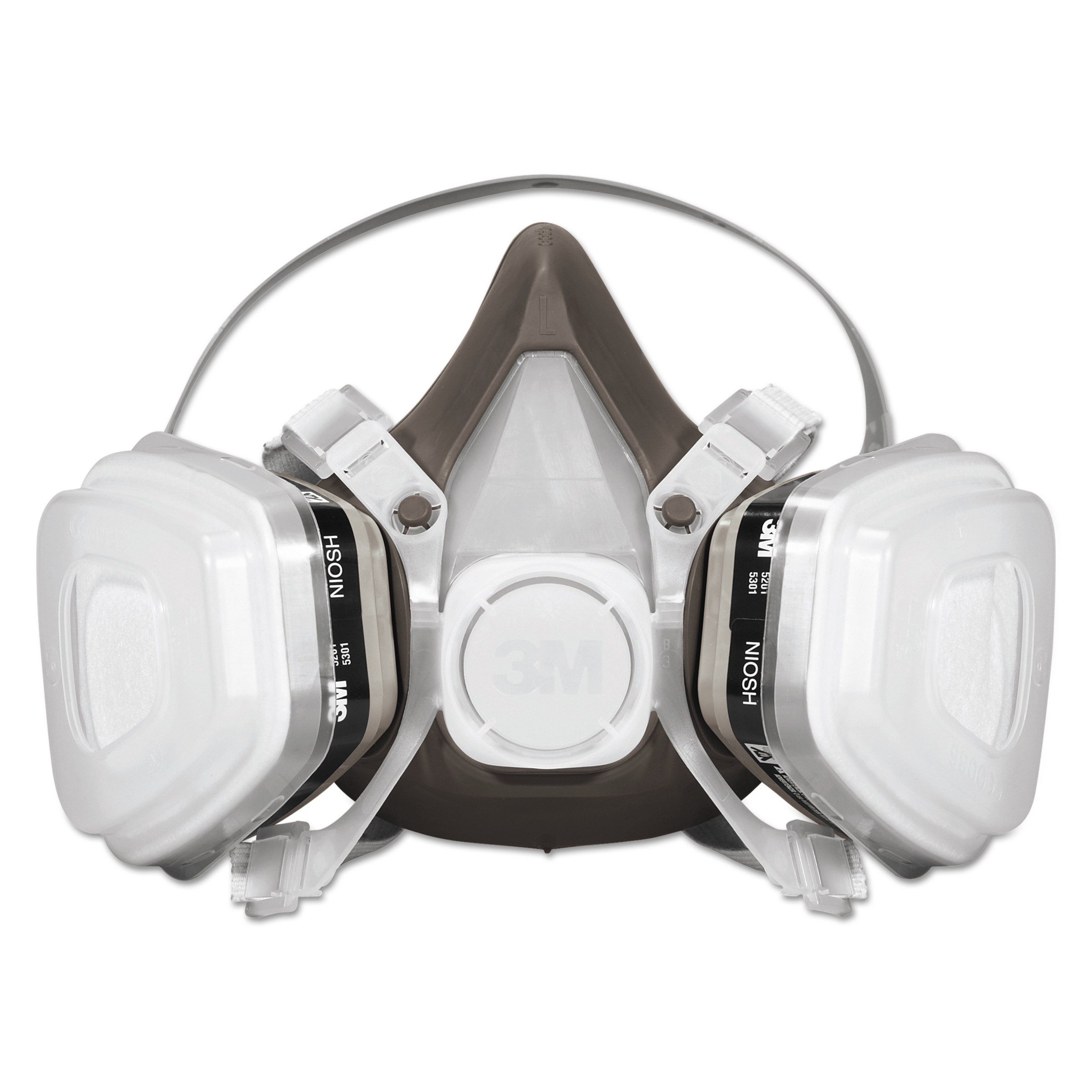 3m 5000 series disposable half mask respirator assembly