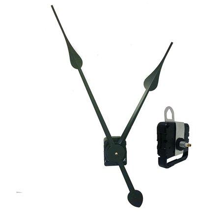 Requires High Torque Movement - Clockworks Quartz AA Battery Operated High Torque Clock Movement