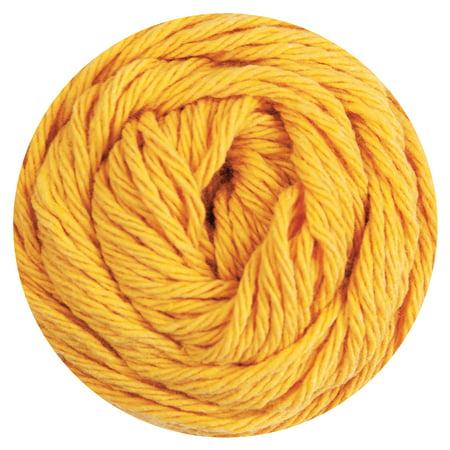 Mary Maxim Dishcloth Cotton Yarn - Yellow