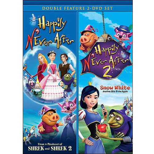 Happily N'Ever After / Happily N'Ever After 2: Snow White (Double Feature) (Full Frame)
