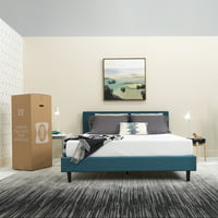 "Sealy 8"" Medium Firm Memory Foam Bed in a Box Mattress"