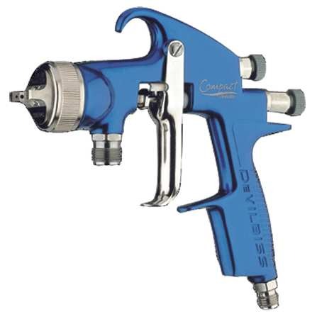 HVLP Spray Gun,Pressure DEVILBISS COM-PS507B-14-00