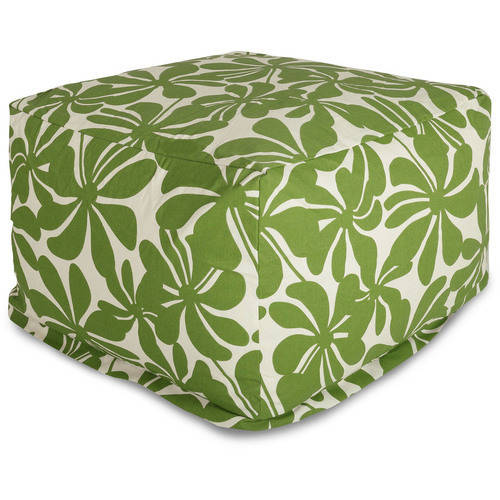 Majestic Home Goods Plantation Bean Bag Ottoman, Indoor/Outdoor