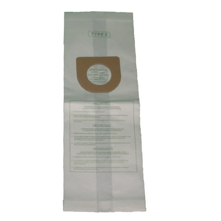 Hoover Type Y/Z Windtunnel Upright Vacuum Cleaner Bags Style 4010100Y, 4010801Y, 4010075Z, 857SW [6 Dust -