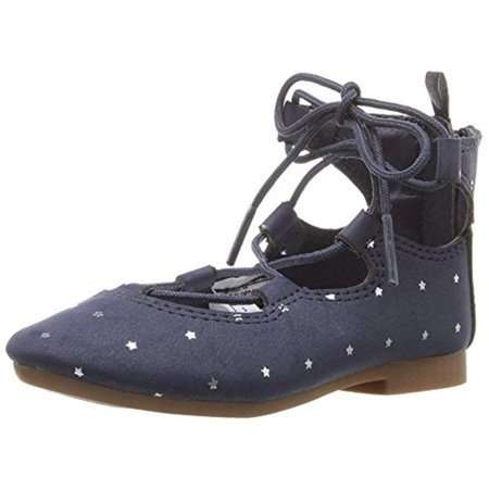 OshKosh B'Gosh Girls Karlie Printed Star Print - Blue Flats For Girls