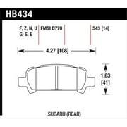 Hawk 02-03 WRX / 05-08 LGT D770 HPS Street Rear Brake Pads