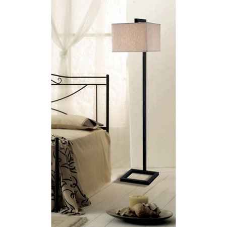 Kenroy Home 4 Square Floor Lamp, Oil Rubbed Bronze by