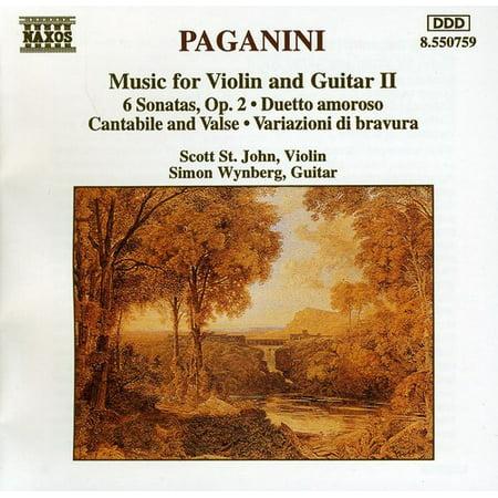 Music for Violin & Guitar 2 (CD)