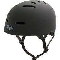 Nutcase Zone Helmet: Black Matte MD
