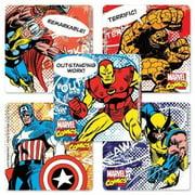 Marvel Comics Motivational Stickers - 75 Per Pack